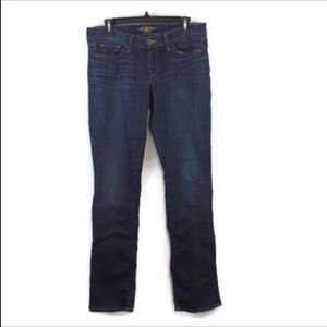 Lucky Brand Charlie Straight Jeans size 6/28